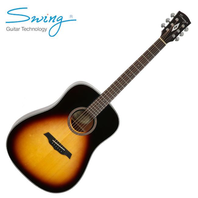 Swing SC-200 VS / 스윙 탑솔리드 통기타