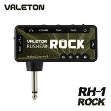 <font color=#262626>VALETON Rushead Rock / 베일톤 헤드폰 & 이어폰 포켓 미니 앰프 (RH-1)</font>