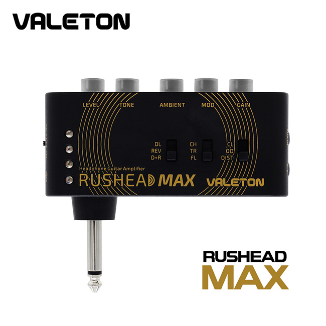 Valeton Rushead Max / 헤드폰&이어폰 포켓 미니 앰프 (RH-100)
