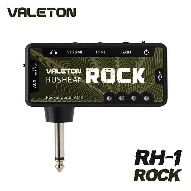 VALETON Rushead Rock / 베일톤 헤드폰 & 이어폰 포켓 미니 앰프 (RH-1)