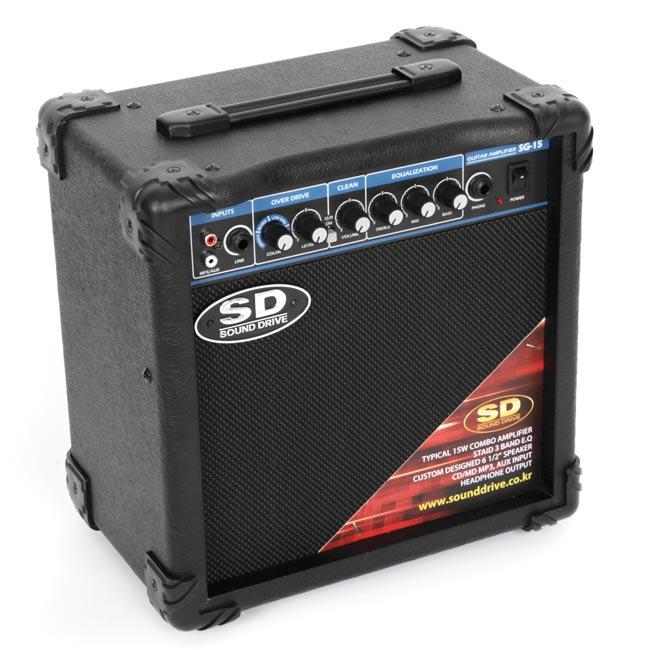 Sound Drive SG-15 사운드드라이브 연습용 기타앰프 15와트