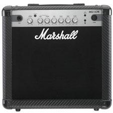 <font color=#262626>Marshall MG15 CFR 15와트 (카본 파이버) 마샬  연습용 기타 콤보앰프</font>