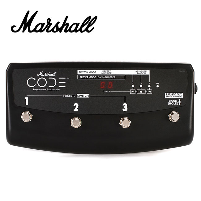 Marshall CODE 전용 풋 스위치 (PEDL-91009)