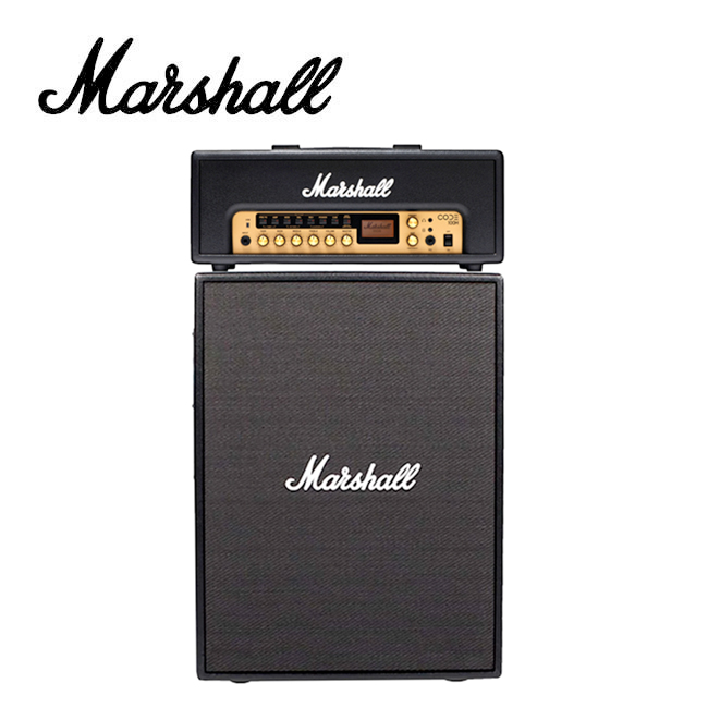[Rotosound 케이블 증정]<br>Marshall - CODE 100 헤드+캐비넷 세트 / 풋스위치 포함 (CODE100H+CODE212)