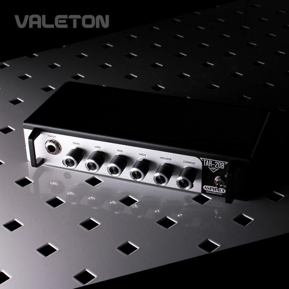 Valeton Asphalt TAR-20B / 20W 미니 베이스용 앰프 헤드