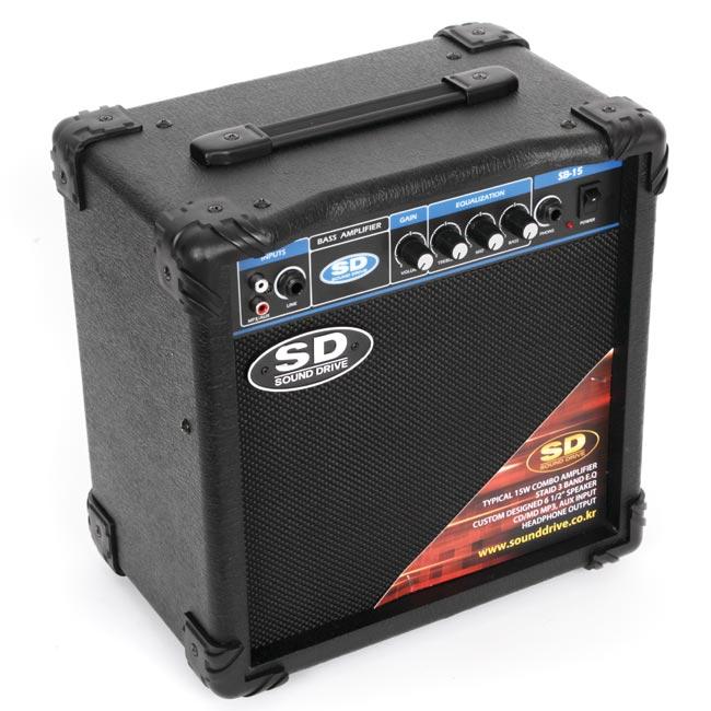 Sound Drive SB15 연습용 베이스앰프 콤보