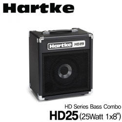<font color=#262626>Hartke 하케 베이스앰프 HD Series Bass Combo HD25 (25Watt 1x8)</font>