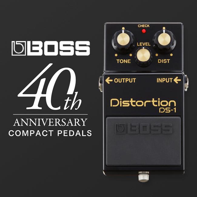 Boss DS-1 4A Distortion / 40주년 기념모델