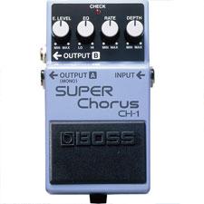 <font color=#262626>Boss CH1 Super Chorus / 보스 CH1 슈퍼코러스 기타이펙터</font>