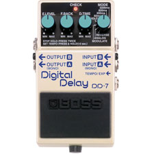 <font color=#262626>Boss DD-7 Digital Delay / 보스 DD7 디지털 딜레이 기타이펙터</font>