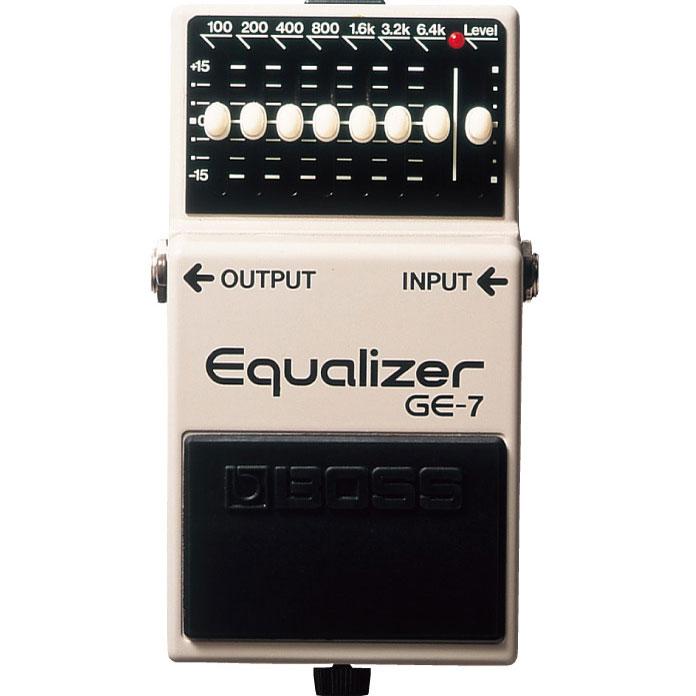 Boss GE7 Equalizer / 보스 GE7 7밴드 이퀄라이저 (기타, 베이스겸용)