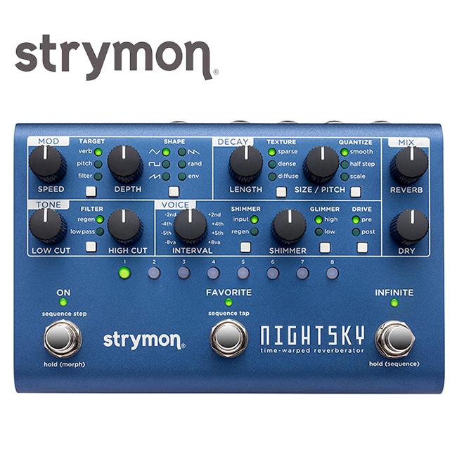 Strymon NightSky / 스트라이몬 나이트스카이 리버브 모듈레이션