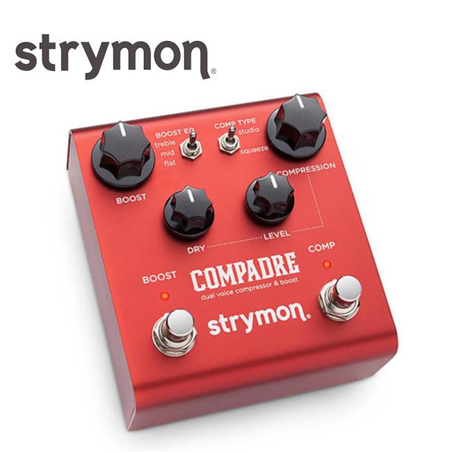 Strymon Compadre 스트라이몬 컴패드리 / 기타 베이스용 컴프레서 & 부스트