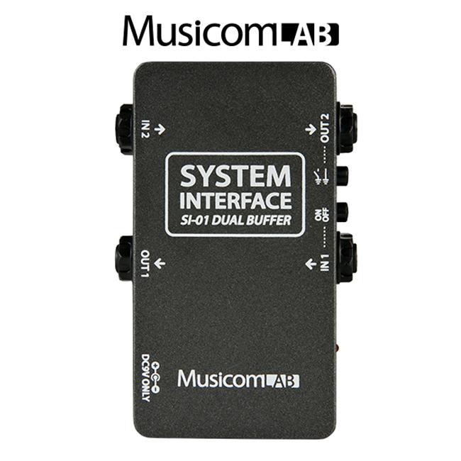 MusicomLAB - System Interface / 듀얼 버퍼 페달보드 솔루션