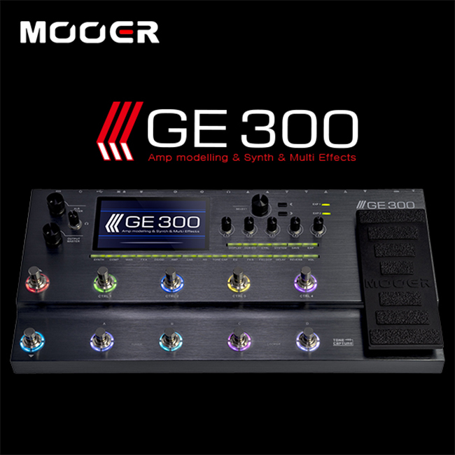 Mooer Audio GE300 / 톤 캡쳐 사운드 프로파일링 멀티이펙터