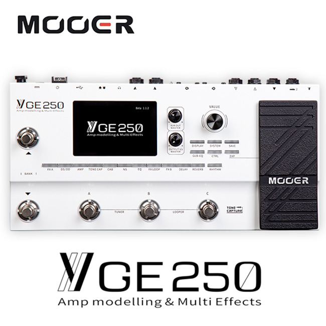Mooer Audio - GE250 Multi Effects Processor 멀티이펙터