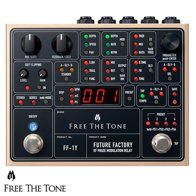 Free The Tone - Future Factory (FF-1Y)