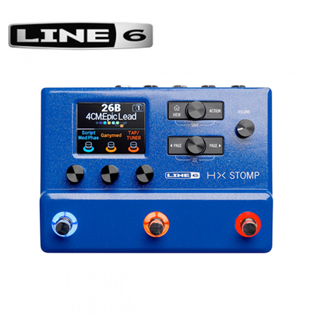 [Limited Edition] Line6 HX Stomp Blue / 라인식스 한정판 멀티이펙터