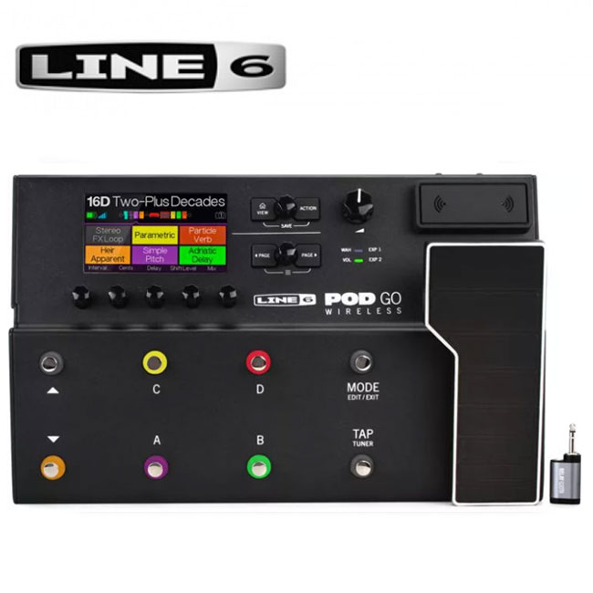 Line6 - POD GO Wireless / 라인식스 피오디 고 와이어리스 멀티이펙터