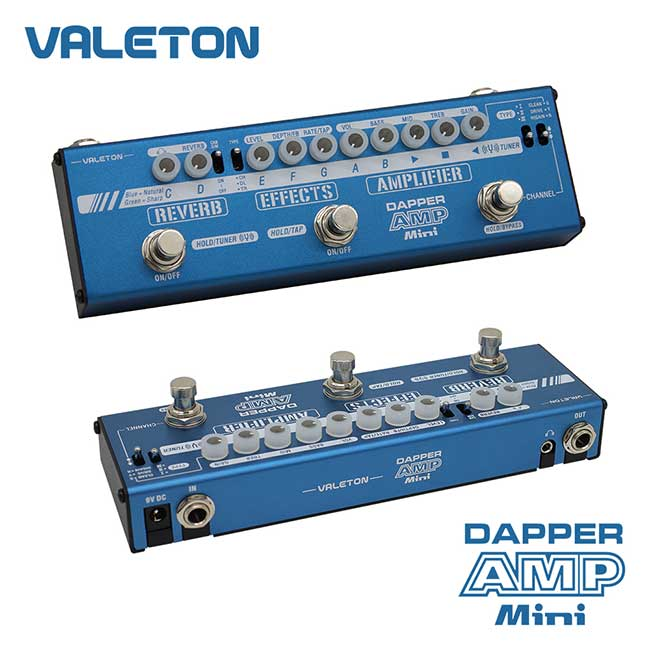 VALETON Dapper Amp Mini / 베일톤 멀티이펙터 (MES-6)