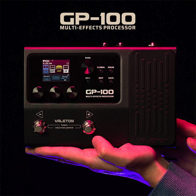 [한글지원 업데이트]<br>Valeton GP-100 베일톤 멀티이펙트 프로세서 (어댑터 포함)