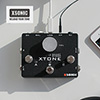 Xsonic - Xtone 페달형 VST 모바일 오디오 인터페이스 & 컨트롤러