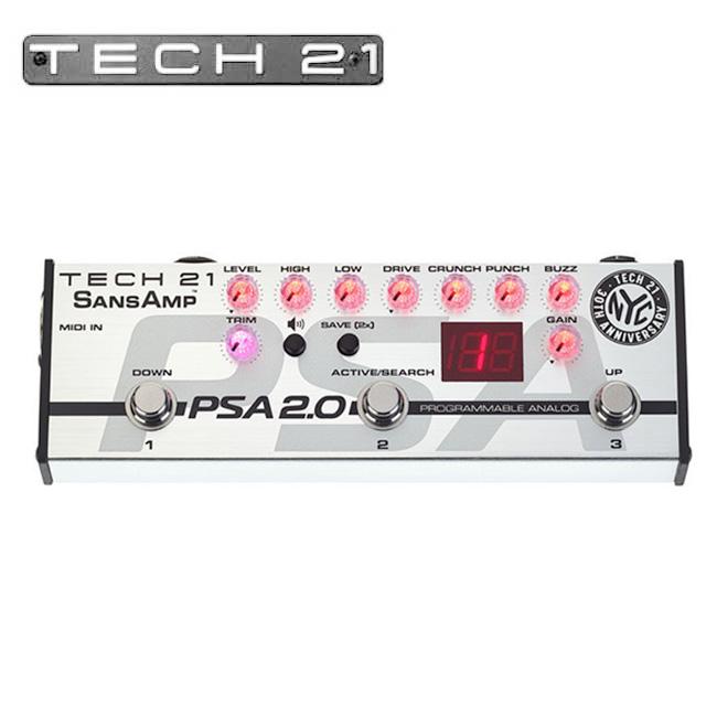 Tech21 SansAmp PSA 2.0 / 기타 & 베이스 프리앰프