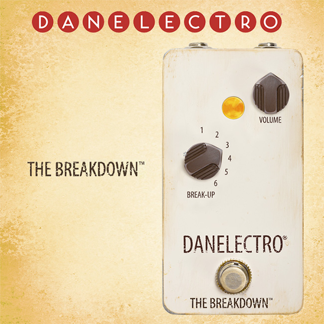 Danelectro - The Breakdown / 댄일렉트로 오버드라이브 & 부스트