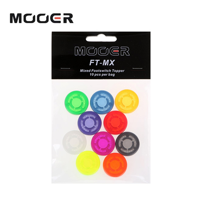 MooerAudio Footswitch Topper / 10pcs (FT-MIX)