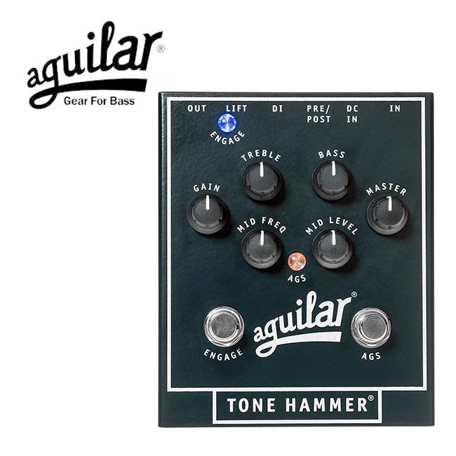 Aguilar Tone Hammer 베이스 프리앰프 & 다이렉트 박스