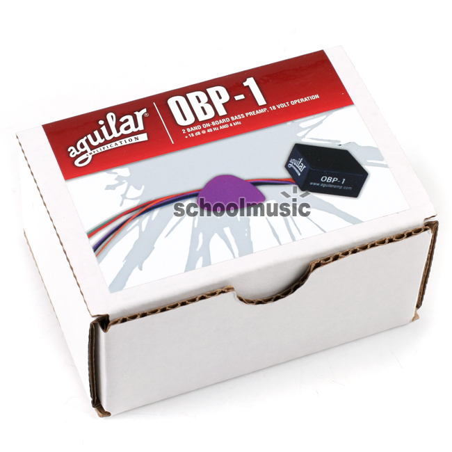 Aguilar OBP1 (2 Band On-Board Bass Preamp)