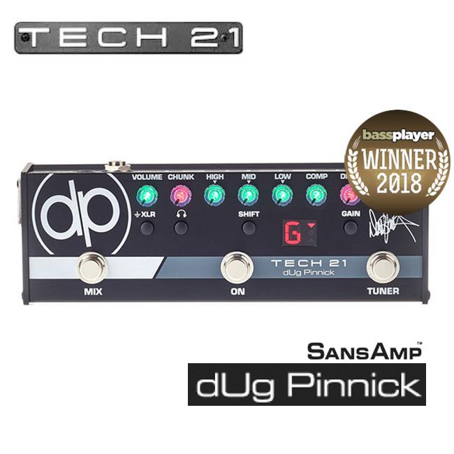 Tech21 - dUg Pinnick SansAmp (DP-3X) / 더그 피닉 산스앰프