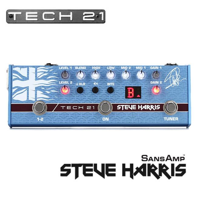 Tech21 - Steve Harris SansAmp (SH1) / 스티브 해리스 산스앰프 (아이언 메이든)