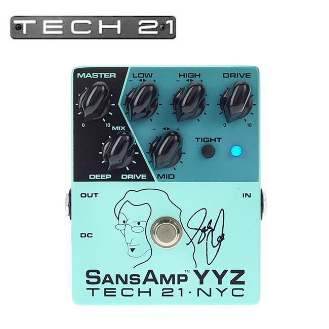 Tech21 - Geddy Lee SansAmp YYZ / 게디 리 산스앰프