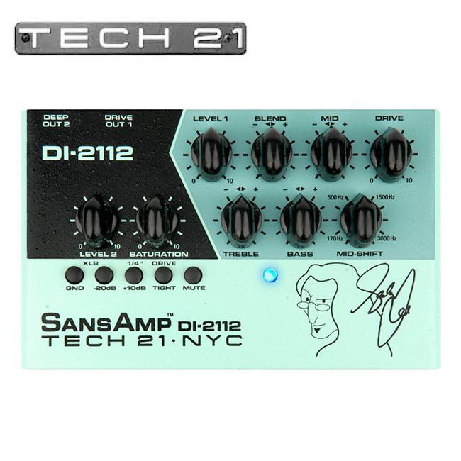 Tech21 - Geddy Lee SansAmp DI-2112 / 게디 리 산스앰프