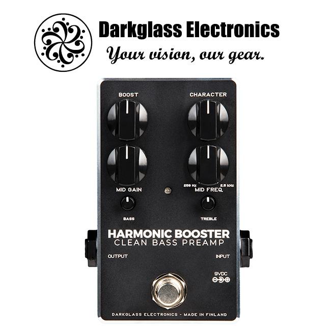Darkglass - Harmonic Booster / 베이스 프리앰프 & 부스터