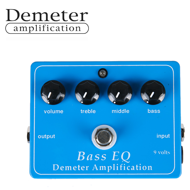 Demeter Bass EQ Preamp / 디미터 베이스 EQ & 프리앰프 (BEQ-PB-SD)