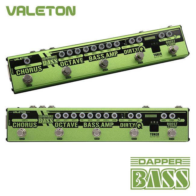 Valeton Dapper Bass 베이스 멀티이펙터 / 어댑터 미포함 (VES-2)