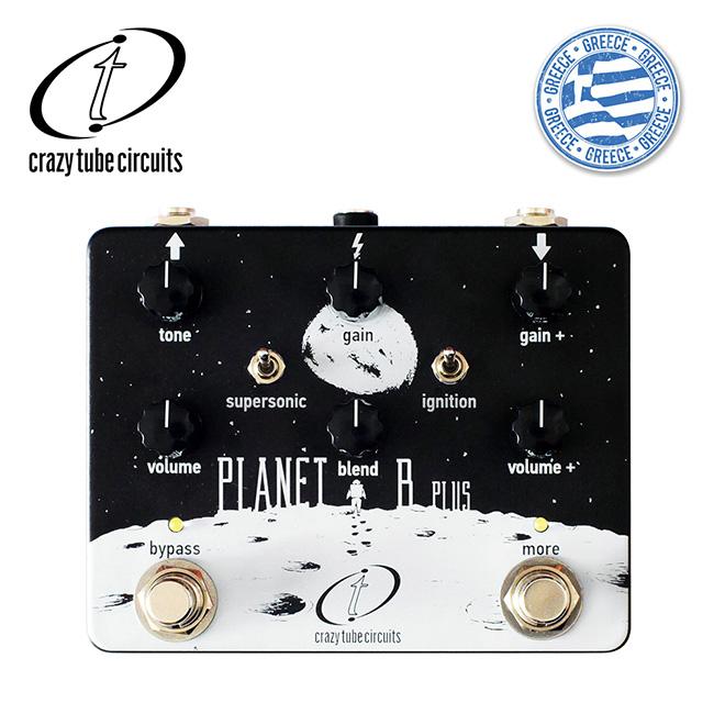 Crazy Tube Circuits - Planet B Plus / 듀얼 채널 베이스 드라이브