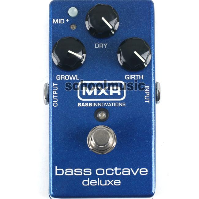 Dunlop MXR Bass Octave Deluxe 베이스 옥타브 페달(M288) From.BASS INNOVATIONS!