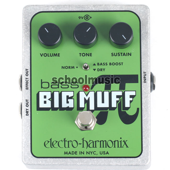 Electro Harmonix - Bass Big Muff Pi(Distortion/Sustainer)