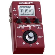 <font color=#262626>Zoom MS-60B Multi Stomp / 줌 MS60B 멀티스톰프 베이스 멀티이펙터</font>