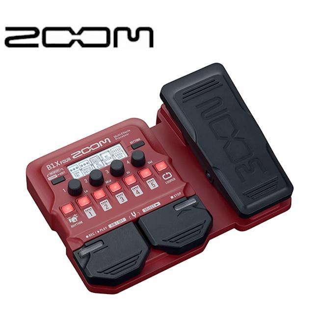 ZOOM B1X FOUR / 베이스 멀티이펙터