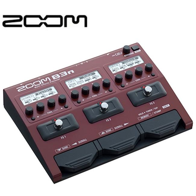 Zoom B3N / 줌 베이스 멀티이펙터