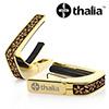 Thalia Capo 24k Gold - Hawaiian Koa Plumeria Lei Engraved Inlay (G200-HK-PL)