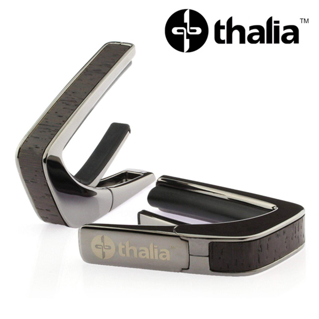 Thalia Capo Black Chrome - African Wenge Inlay (B200-AW)