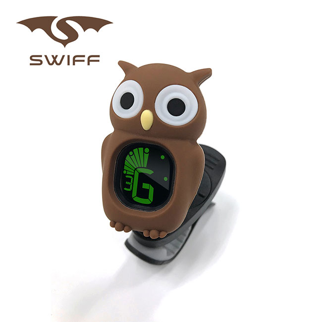 SWIFF B7 Owl Tuner Brown / 올빼미 튜너