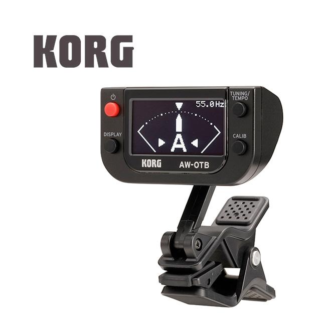 KORG AW-OTB 베이스용 클립 온 튜너