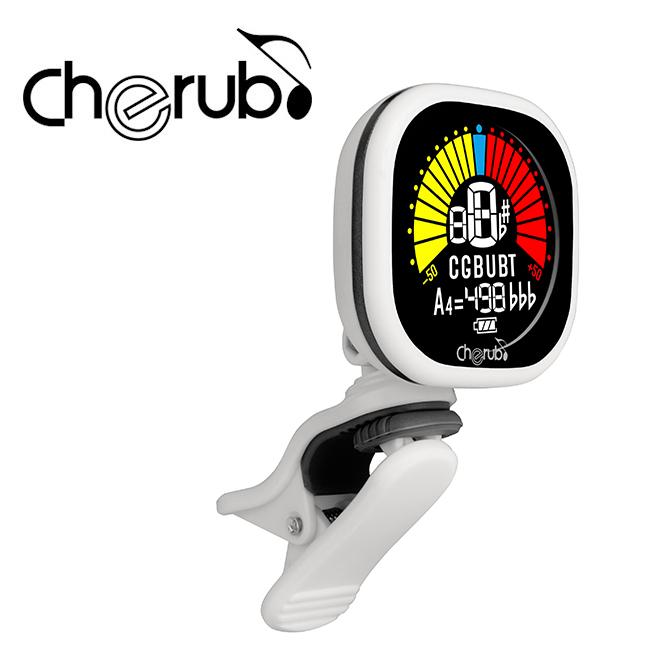 Cherub WST-675 CAB Tuner / 충전식 클립 튜너 (White)