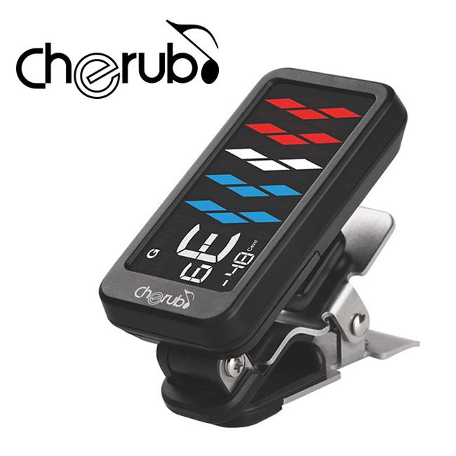 Cherub Clip-On Tuner / 고감도 클립튜너 5~6현 베이스 튜닝 가능 (WST-905)